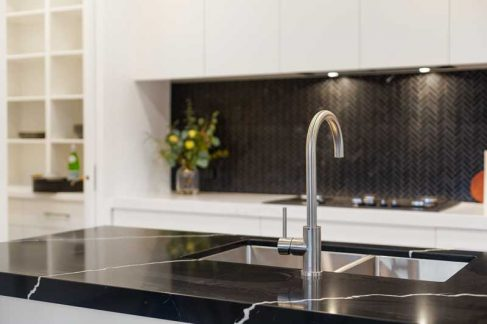 Kitchen sink & Faucet Installation